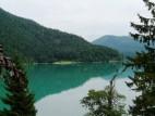 Der Ort Walchensee vom See aus