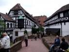 Gebäude im Inneren der Wartburg