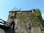 Westseite der Burg Thurant